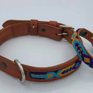 Collare M (35-43cm) con braccialetto